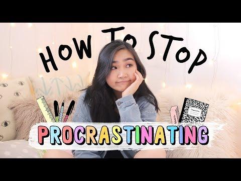 How to Stop Procrastinating (Study Tips + Advice) | JENerationDIY