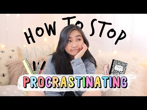 How to Stop Procrastinating (Study Tips + Advice) | JENerationDIY