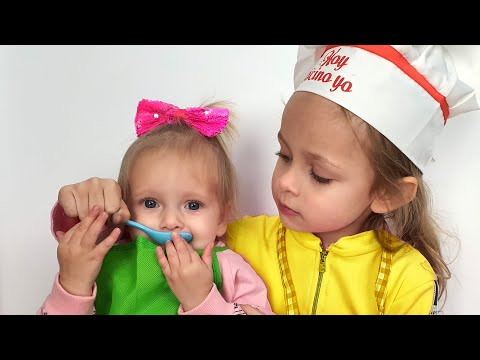 Two little sisters - Kids  Song by Maya and Mary