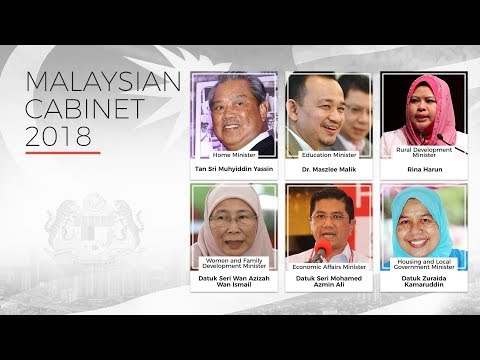 Leaner Cabinet named by Pakatan Harapan, Azmin is the surprise selection
