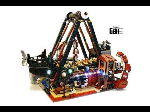 玩樂高地 170825 ep68 p2 of 2 香港Lego MOC神人-Ken Lee 海盜船新舊對比 / Project GBK  / Lego Pirate