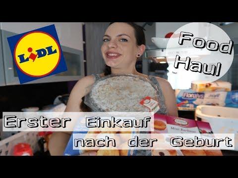 Lidl Food Haul/Nach der Geburt/Rezepte/Mel´s Kanal