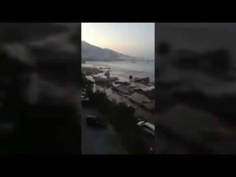 DETIK-DETIK MENYERAMKAN GEMPA DAN TSUNAMI DI PALU  (EXTREME EARTHQUAKE FROM PALU)