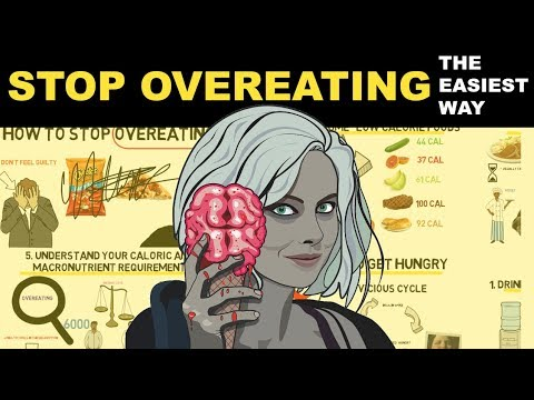 How To Stop Overeating   Stop Binge Eating & Control Your Appetite