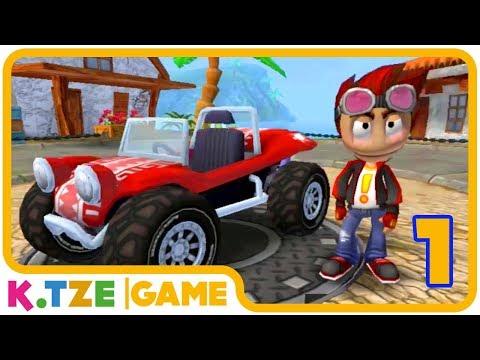 Beach Buggy Racing 🚙 Deutsch, Jump Start ins Android Spiel | Part 1