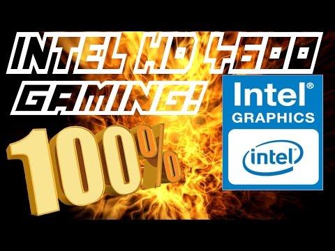 Jugando en una Intel HD Graphics 4600 al 100% (benchmarks)