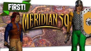 "🤴🏻 The First MMO ""Meridian59"" First Look MMO Lets Play Collab"