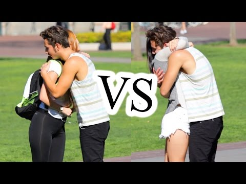 Fake Hugs vs. Real Hugs! (Social Experiment)