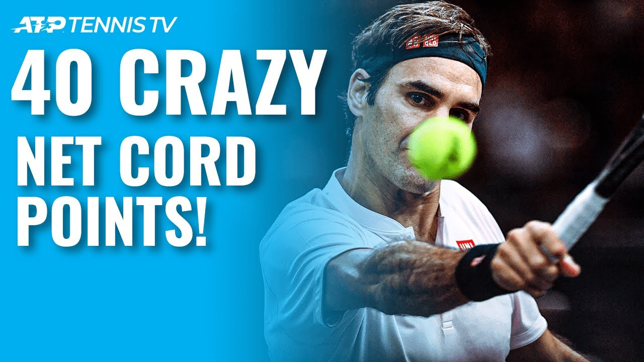40 Times the Net Cord Got Involved in a Crazy Tennis Point!