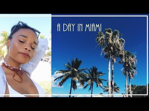 Travel Diary   Miami (vegan food, ootd + beach)
