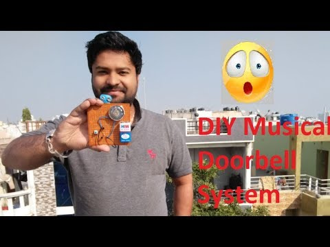 DIY Musical Doorbell System ! Simple Electronic Project For Students