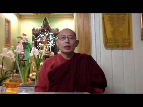 """Abhidhamma Lecture (English) February 14, 2018 """"Cosmology in Buddhism"""" (Part-7)"""