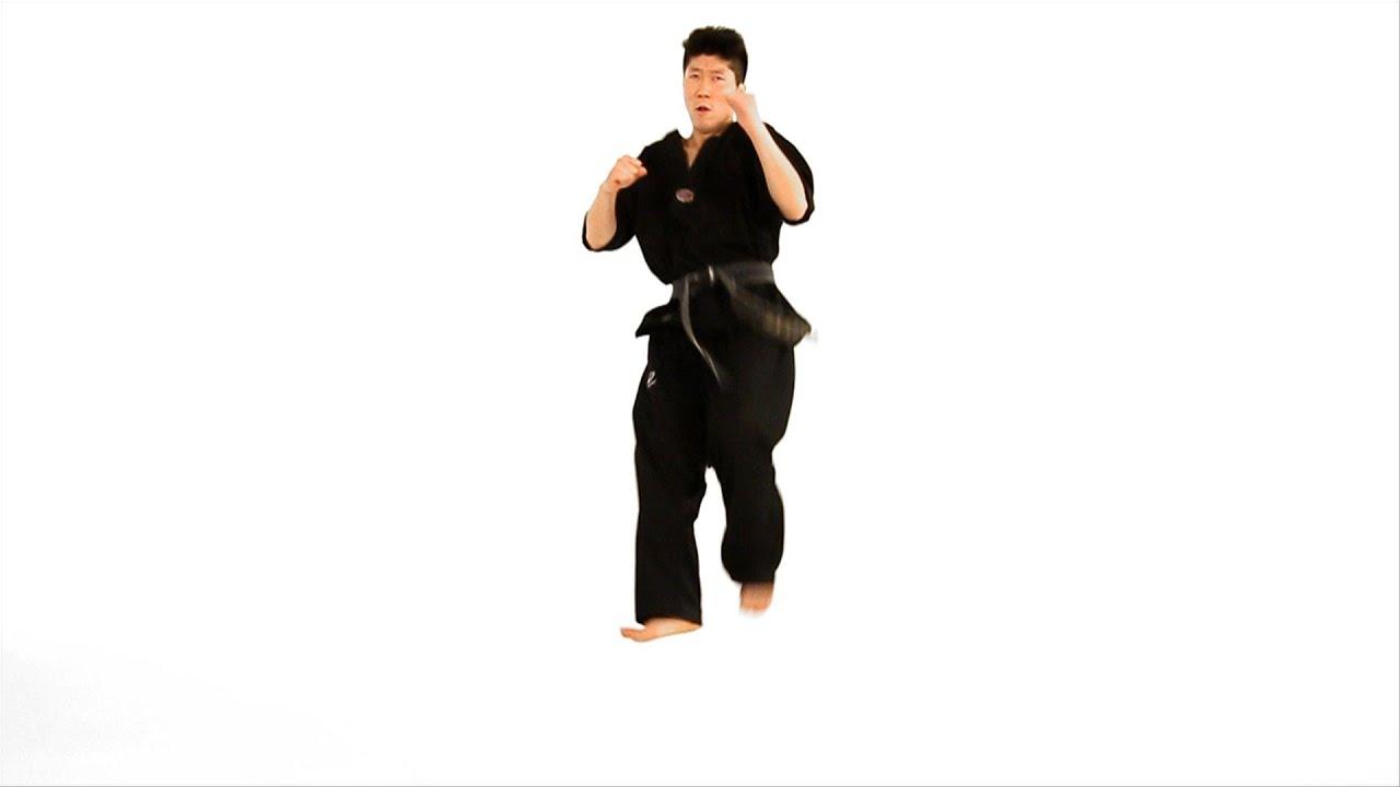 How to Do a Jump Axe Kick | Taekwondo Training