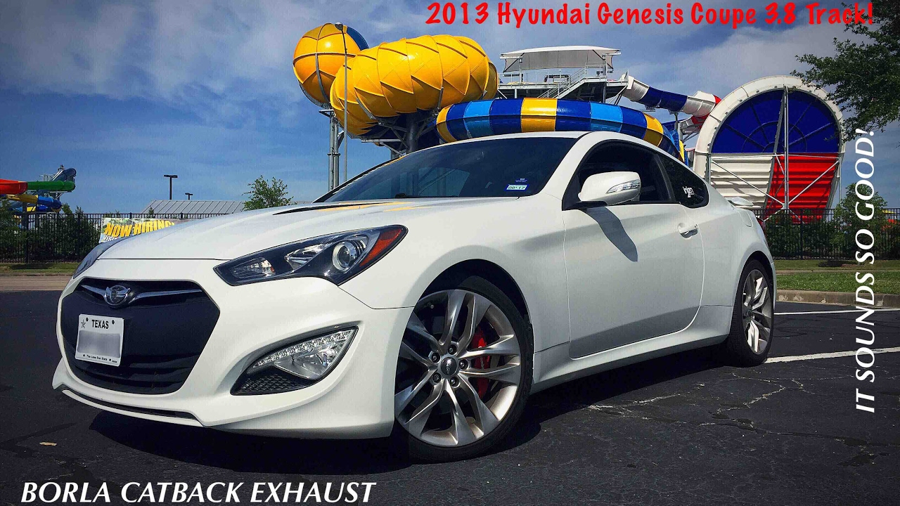 Bk2 genesis coupe 3 8 borla catback exhaust before after