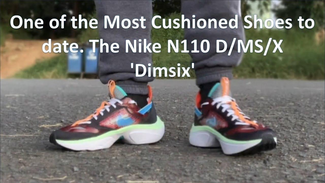 cushioned nike shoes
