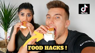 BEST VIRAL TIKTOK FOOD HACKS  **LIFE CHANGING**
