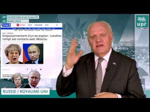 Que pensez vous de la crise diplomatique entre la Russie et le Royaume uni ?