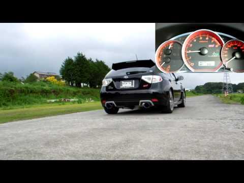 SUBARU IMPREZA WRX STI HKS Super Turbo Muffler 31029-AF005