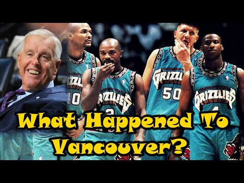 How The Vancouver Grizzlies REALLY Lost Their NBA Team