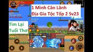 Ninja School Online | Một Mình Cân Lãnh Địa Gia Tộc Tốp 2 Sv23 ,Tìm Lại Tuổi Thơ  ^^