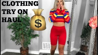 HUGE TRY ON CLOTHING HAUL | FASHION NOVA, PRETTY LITTLE THING, ETC.