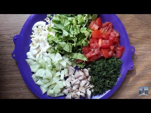 Диетические салаты для похудения, низкокалорийные салатики