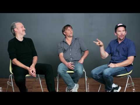 Richard Linklater, Ethan Hawke, and Julie Delpy on Writing THE BEFORE TRILOGY