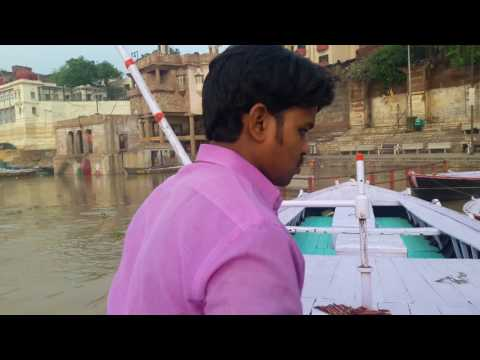 Varanasi ; India ( water level of Ganga in Monsoon 2017 )