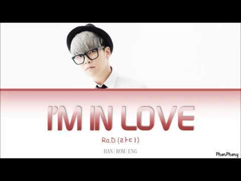 I'm In Love - Ra.D (라디) Lyrics