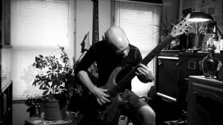 Carcass - Captive Bolt Pistol (Fretless Bass Guitar Cover)