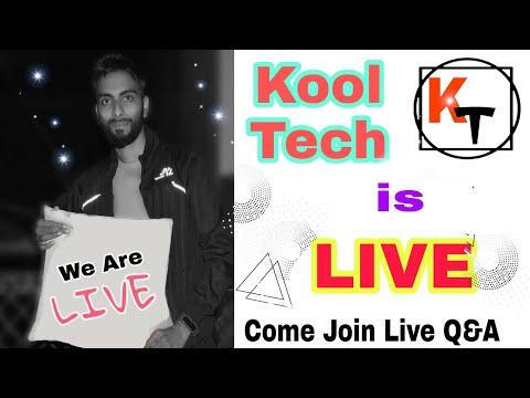 *LIVE* Kool Tech is Live. Live Q&A