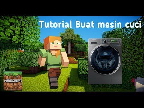 Minecraft cara membuat mesin cuci simple