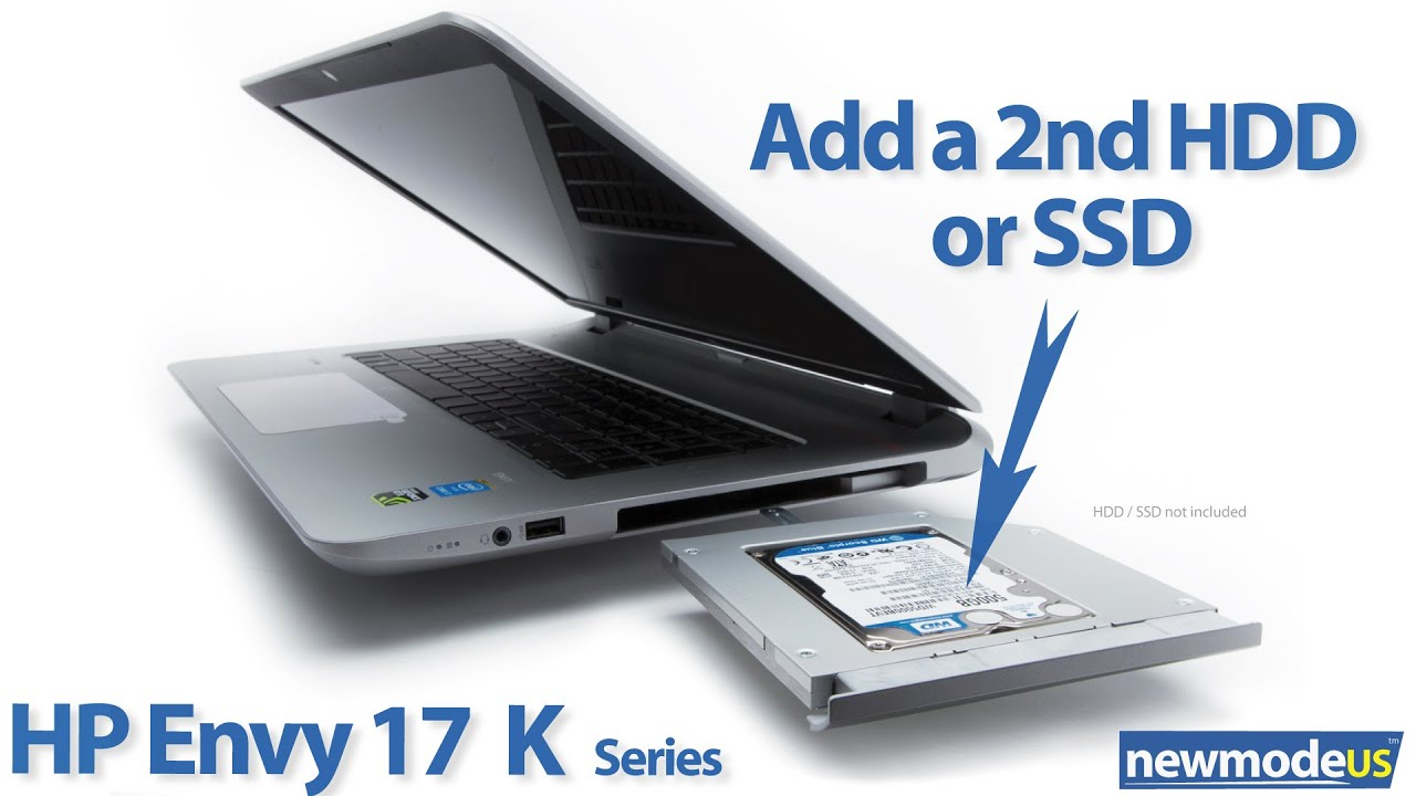 Add A 2nd Hdd Or Ssd Hp Envy 17 K000 Kxxx Series And M7