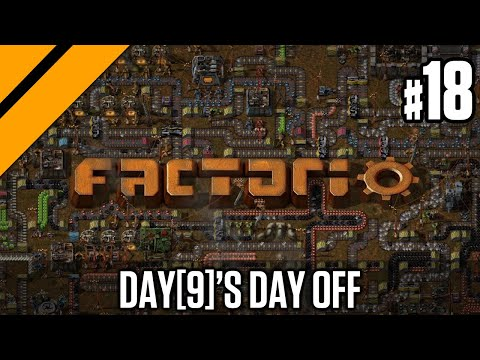 Factorio - Launching my First Rocket P18