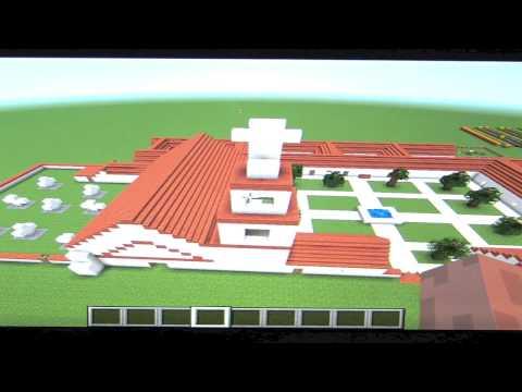 Minecraft Mission San Buenaventura Jordan