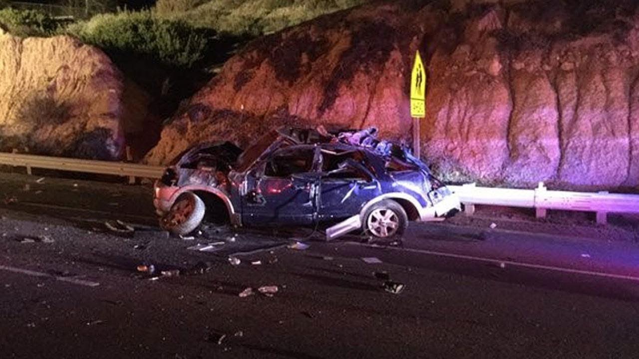 Car Crash Pacific Highway