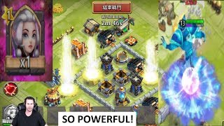 New Hero ESPIRITA Absolutly INSANE Elusive PET BIG BLUE Castle Clash