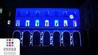 ESMA - Coeur de Ville en Lumières 2018 - Montpellier