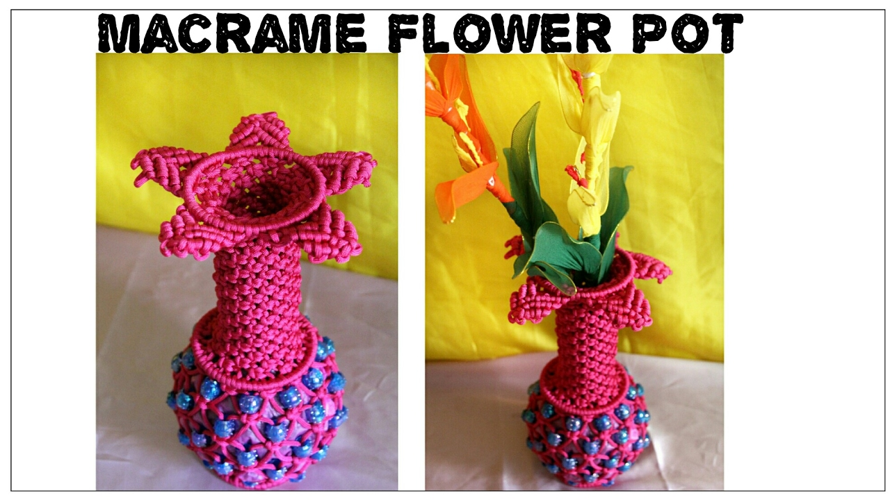 Easy Flower Pot Crafts