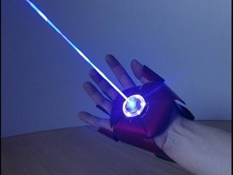 Dual Laser IRON MAN Glove (with sounds and ejecting shell)