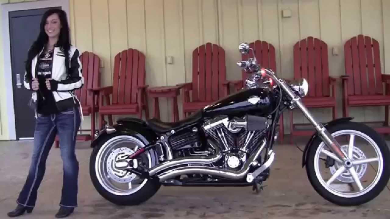 Harley Davidson Rocker C >> Used 2009 Harley Davidson FXCWC Rocker C Motorcycles for sale - YouTube