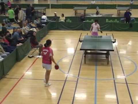 2008 Golden Western Open - Gao Jun vs Crystal Huan...