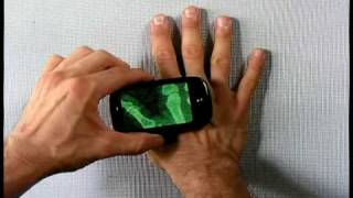 Palm Pre X-Ray Camera App Demo