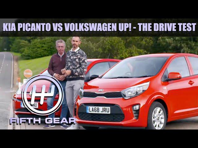 Kia Picanto VS Volkswagen Up! - The Drive Test   Fifth Gear