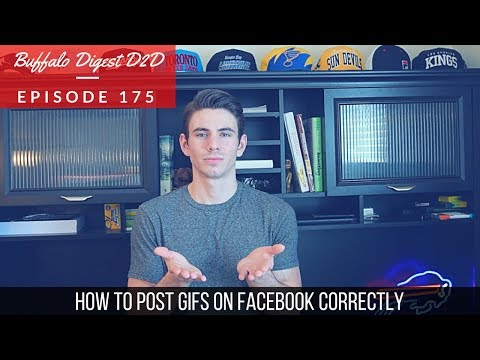 How To Post A GIF On Facebook Correctly - Social Media Marketing On Facebook