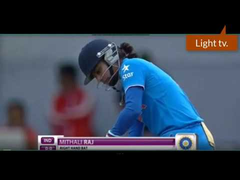 Mithali Raj delivers  wel || pakistan is fail|| 73*||asia cup 2016