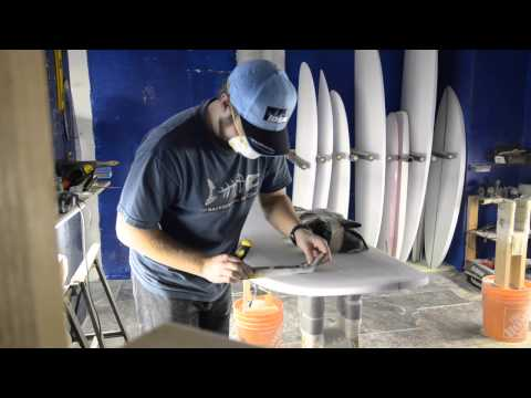 First Surfboard with Shaper Studios Vanouver