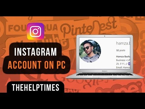 How To Sign Up / Sign In To Instagram From PC Or Laptop (2019) - Instagram Guide