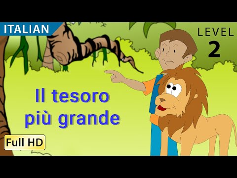 "The Greatest Treasure: Learn Italian with subtitles - Story for Children ""BookBox.com"""