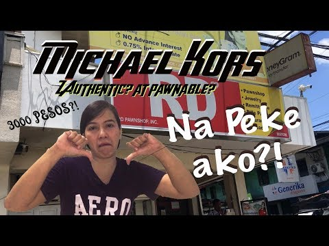 Michael Kors  Watch Worth 3k ?! || Authentic At Pawnable Daw?!!